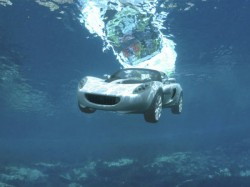 First Underwater Car Was Inspired James Bond