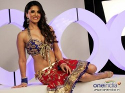 Sunny Leone Barred Perform Cage Dance Dubai Night Club