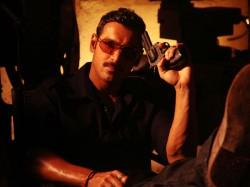John Flaunts Retro Sunglasses In Shootout At Wadala