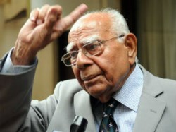Ram Jethmalani To Be Expelled From Bjp Sources