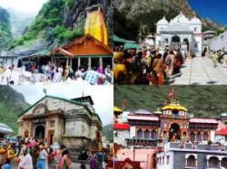 Gangotri Yamnotri Gate Open Chardham Yatra Begin