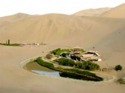 Lake Was Shrinking Due To Increasing Desertification