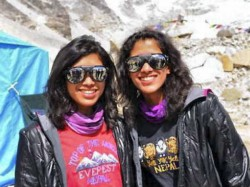 Indian Sisters Become First Twins To Climb Everest