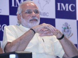 Modi Launch Abad Edition Of Business Line Newspaper