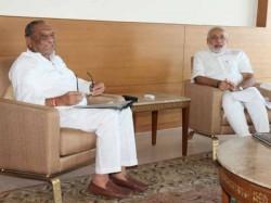 Modi And Dinsha Patel Meeting Heats Gujarat Politics