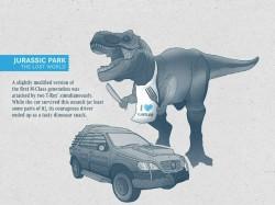 Movie Fun Facts Involving Mercedes Benz