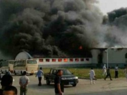 China Fire In Poultry Farm 112 Died