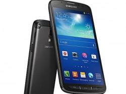 Samsung Announced Waterproof Smartphone
