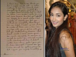 Jiah S Letter Will Be Sent Handwriting Expert Police