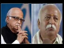 Advani Meets Bhagwat Discuss Important Issues