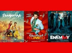 Raanjhnaa Shortcut Romeo Enemmy Releases Friday
