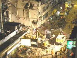Killed 12 Hurt Thane Building Collapse