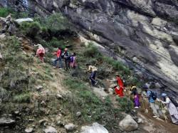 Heavy Rain Hampers Rescue Operations In Uttarakhand