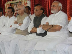 Advani Rajnath And Modi Offer Condolences To Chikhaliya