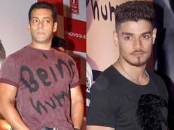 Salman Khan Meet Sooraj Pancholi Hyderabad