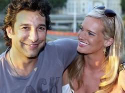 Wasim Akram Marry Australian Shaniera Thompson