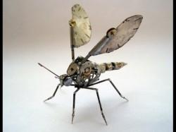 Futuristic Sophisticated Mechanical Bugs