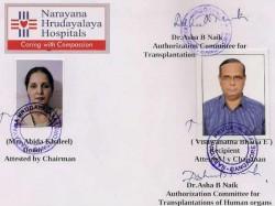 Kidney Swapping Between Hindu Muslim In Bangalore