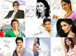 Autograph Bollywood Stars