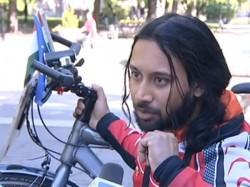 Indian Cyclist Reaches Qatar On 200000 Km Trip