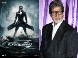 Big B Gives Voiceover Krrish