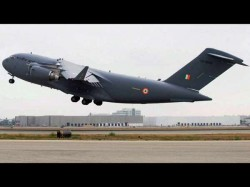 C 17 Heavy Lift Transport Plane Inducted Into Iaf