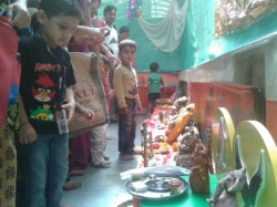 Children Celebrate Eco Friendly Ganesh Chaturthi