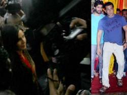 Katrina Kaif Leaves Ranbir Kapoor Join Salman Khan Ganesh Visarjan