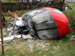 Four Killed In Helicopter Crash In Thane