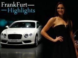 Frankfurt Motor Show 2013 Highlights Through Pictures