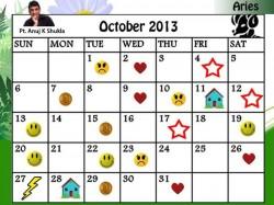 Monthly Predictions October 2013 Astro Calendar