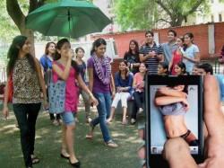 Delhi University Du Student Secretly Shoots Video In Ladies Toilet