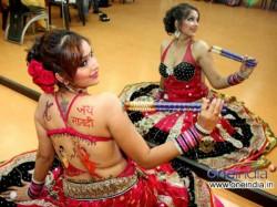 Tanisha Singh Celebrates Navratri Festival