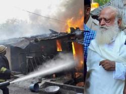 Asaram S Ashram Fired Some Protesters Valsad