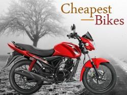 Best Cheapest Bikes India