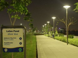 Glimpses The Scenic Gardens At Sabarmati Riverfront