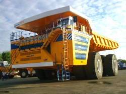 World Largest Mining Dump Truck Belaz