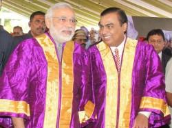 Modi Address Students On 3rd Convocation Ceremony Pdpu