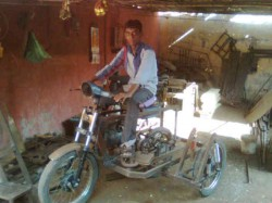 Gujju Patel Brother Invention Cheap Bike Tractor