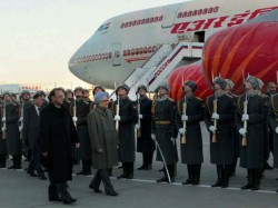 Manmohan Singh Li Keqiang Begin Talks Beijing