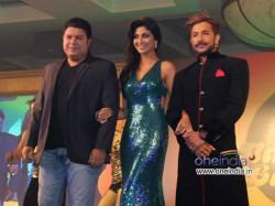 Shilpa Shetty Looks Chemistry Nach Baliye Couples