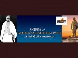 Modi Lay Foundation Stone Statue Unity