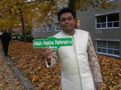 Street In Canada Named After A R Rahman