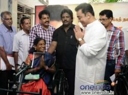 Kamal Hassan Indulges Charity On Birthday