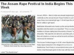 Assam Rape Festival Article In Us Website Is Insulting India
