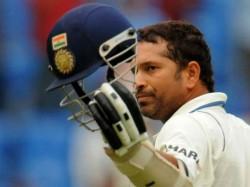 Sachin Tendulkar For 74 First Innings Farewell Test