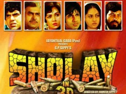 Sholay 3d Will Refresh 1975 S Famous Characters