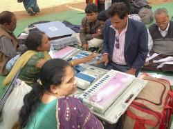 Madhya Pradesh Mizoram Begins Voting