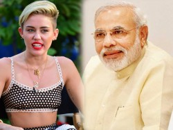 Race Between Modi Miley Cyrus Edward Snowden Time