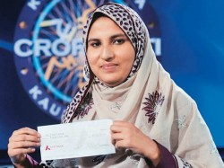 Kbc 2013 Gets Its First Female Crorepati Firoz Fatma From Saharanpur